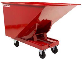 Zelfkieper Kiepcontainer 520 L Laadvermogen 2 t Rubber Wielen