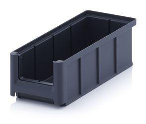 Magazijnbak Kunststof 22x10,2x7,5cm in 5 Kleuren Leverbaar