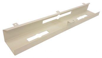 Universele kabelgoot welke eenvoudig onder een werkblad is te monteren.  Leverbaar in 3 kleuren: Wit Zwart Aluminium