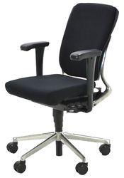 Bureaustoel Ahrend 230 Lage Rug Zwart Gebruikt