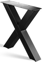 Stalen X Poot | X Poot-onderstel | Industrieel Tafelonderstel