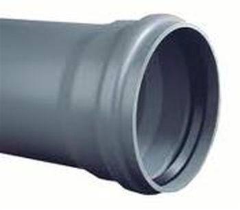 PVC Afvoerbuis SN8 met aangevormde manchetmof
