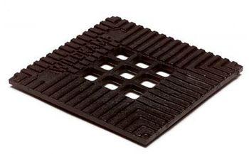 Gietijzeren rooster voor vloerput