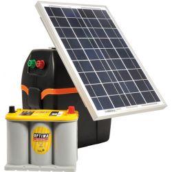 Schrikdraadapparaat op zonne energie