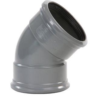 pvc-bocht-2-manchet-400-45