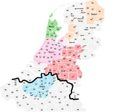 Kerstboom bezorgd in Nederland en Vlaanderen