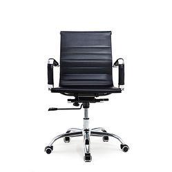 Bureaustoel Randers - Zwart lage rugleuning