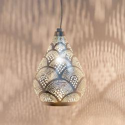 Hanglamp Elegance - Fan Mini - zilver - Zenza
