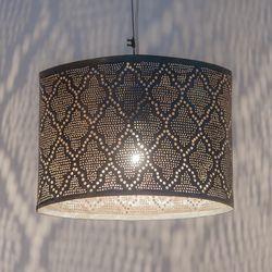 Hanglamp - Oval Moorish Zwart - Small - Zenza