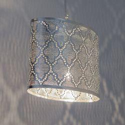 Hanglamp - Oval Moorish - Small - Zilver - Zenza