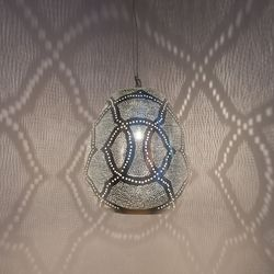 Hanglamp Tahrir - Filigros S - Zilver - Zenza