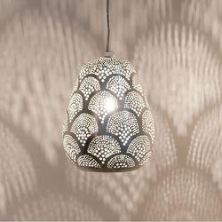 Hanglamp Tahrir - Fan Mini - Zilver - Zenza