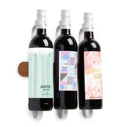 SHOWVINO WINE DISPLAY WHT/NAT