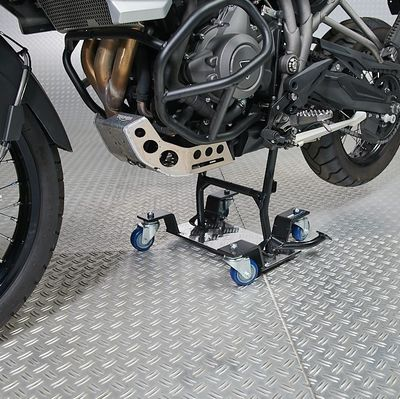 Verrijdbare mover onder motor