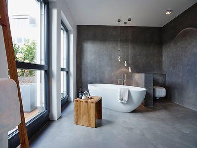 Nieuwste trend: betonlook in de badkamer