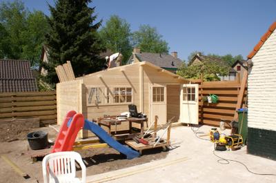 Tips voor het zelf bouwen van een blokhut of tuinhuis