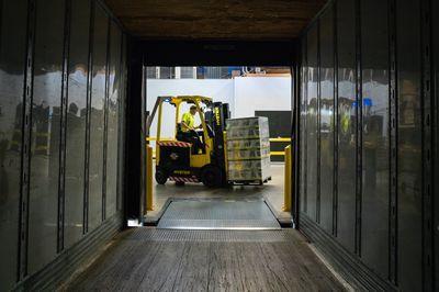 Zware goederen transporteren