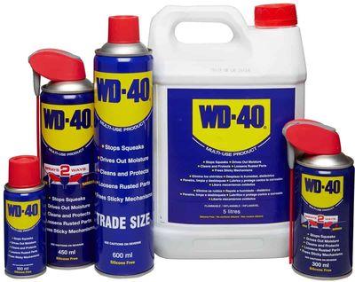 Waarvoor gebruik je de WD-40 (en 5 plaatsen waar het nooit moet worden gespoten)