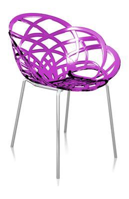 Svane Spaans design stoel paars