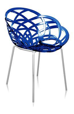 Svane Spaans design stoel donkerblauw