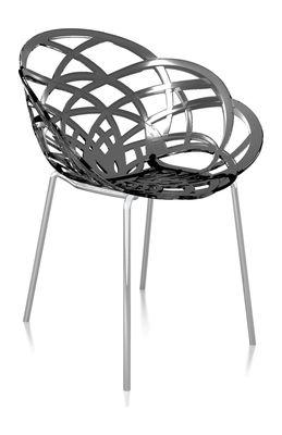 Svane Spaans design stoel donkergrijs