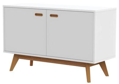 Falde dressoir wit 114 cm