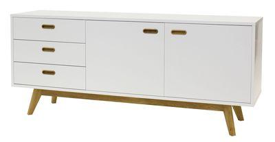 Falde dressoir wit 170 cm