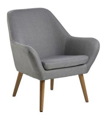 Vester fauteuil grijs