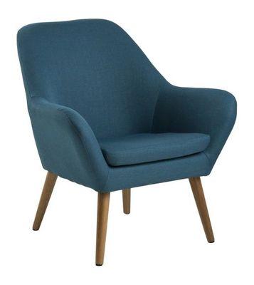 Vester fauteuil blauw