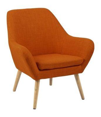 Vester fauteuil oranje