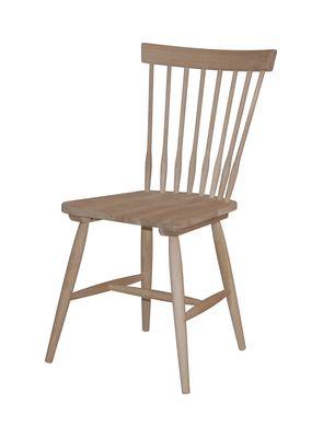 Melo houten stoel onbehandeld (ook in wit)