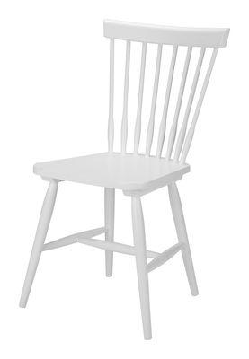 Melo houten stoel wit (ook onbehandeld verkrijgbaar)