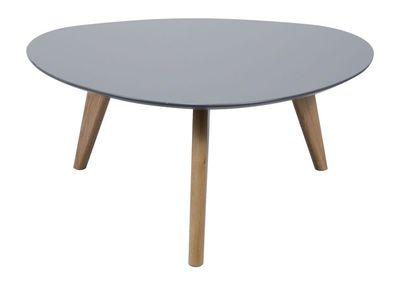 Linde salontafel driehoekig 90cm grijs