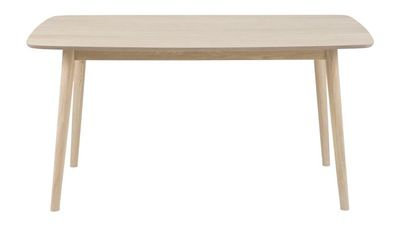 Leif eettafel rechthoekig 150 cm eiken