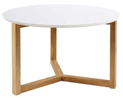 Jul salontafel rond wit 90 cm
