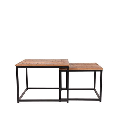 Salontafel Set Couple 60x60x45 cm