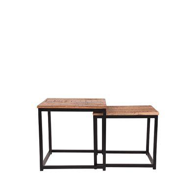 Salontafel Set Twain 45x45x45 cm