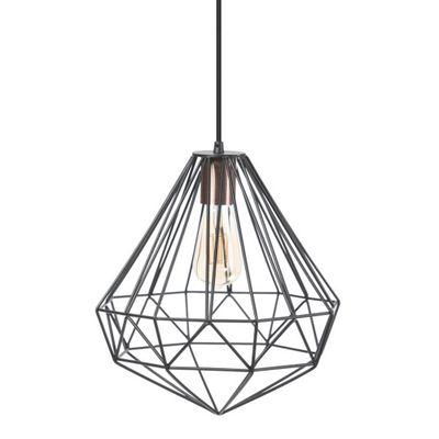Hanglamp Stargaze zwart met koper accent
