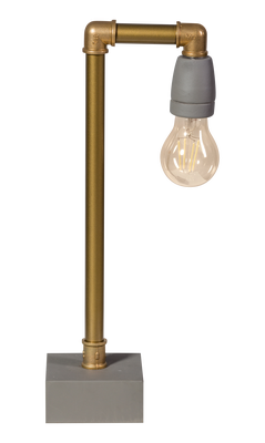 ETH Expo Trading tafellamp Gassed Up in goudkleur