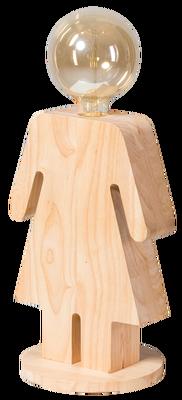 Tafellamp Eve vrouw 24 cm hoog