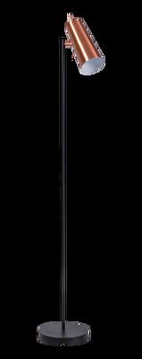 Brooklyn vloerlamp zwart/koper