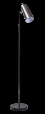 Brooklyn vloerlamp zwart/staal