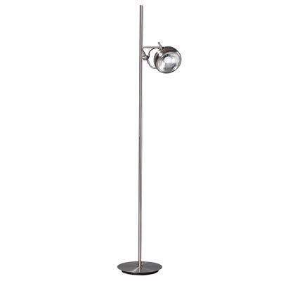 Vloerlamp Head 2.0 mat chroom 1-lichts