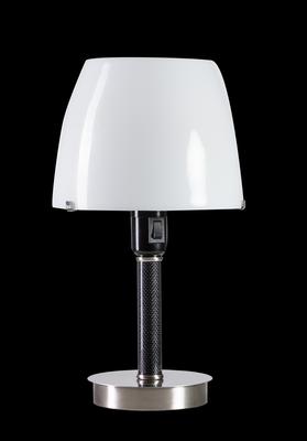 ETH Expo Trading tafellamp Cooper met wit opaal glazen kap