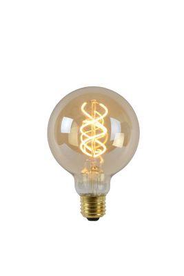Dimbare LED bollamp - Ø 9,5 cm - 1x5W 2200K - Amber