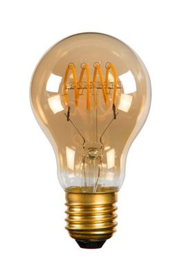 Dimbare LED lamp - Ø 6 cm - 1x5W 2200K - Amber