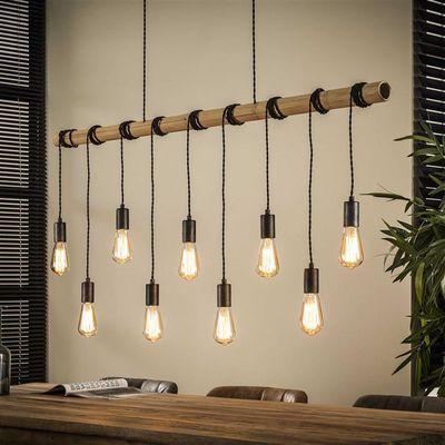 Hanglamp Dornburg van bamboe