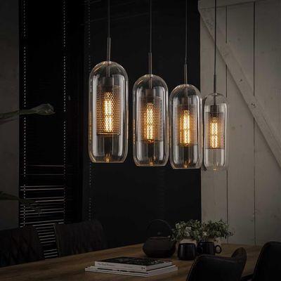 Hanglamp Dransfeld van geperforeerd metaal