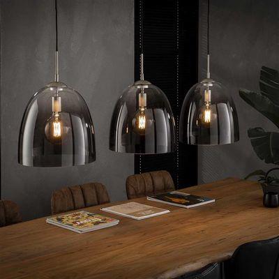 Hanglamp Drensteinfurt van mondgeblazen glas