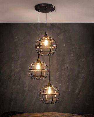 Hanglamp Eichstatt van bolvormig metaal